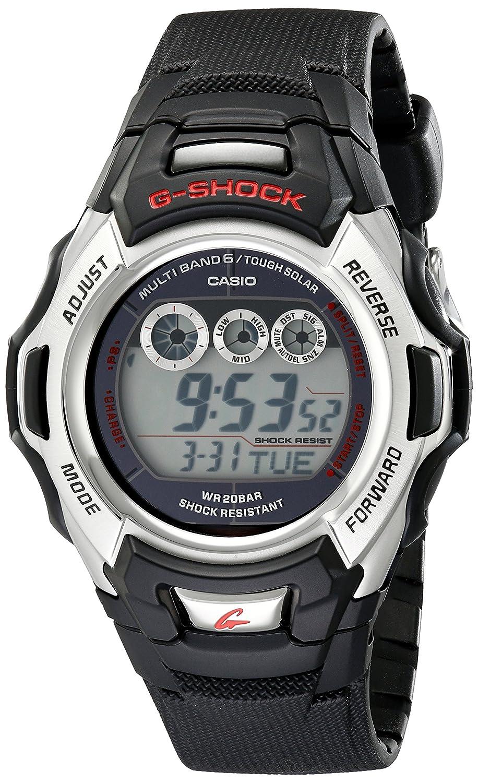 Casio GWM500A-1 - Reloj (Resina, 140 g, 56,8 x 46 x 16,6 mm, Negro, Plata): Casio: Amazon.es: Relojes