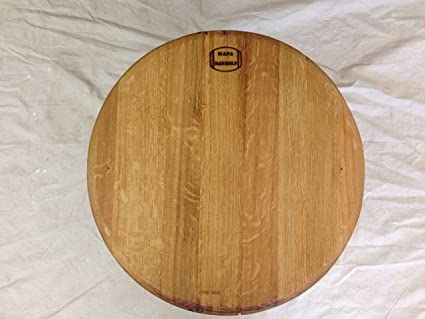 Amazoncom Wine Barrel Top Lazy Susan Rustic