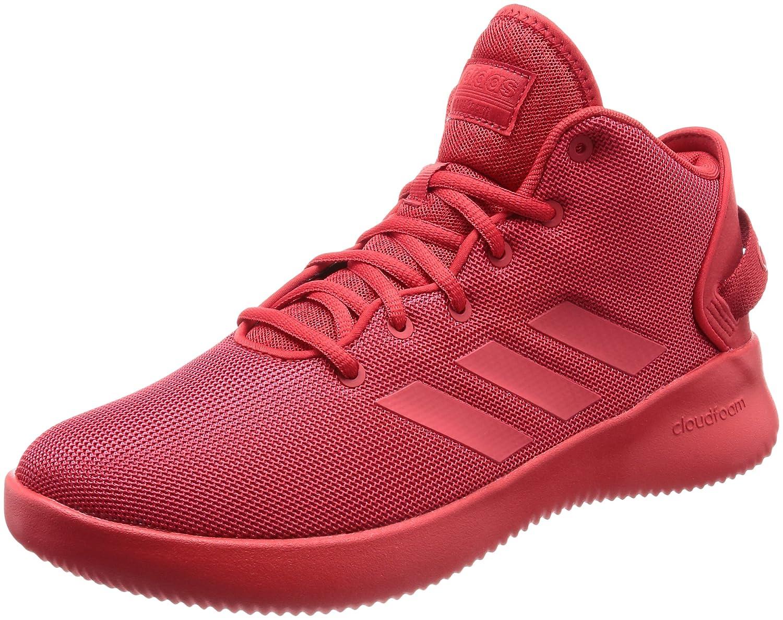 Rouge (Escarl   Escarl   Escarl 000) adidas Cloudfoam Refresh Mid, Baskets Hautes Homme 44 EU