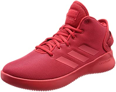 f7f8053f34f adidas Neo Men Shoes Boots Cloudfoam Refresh Mid Red Basketball Style  DA9669 New (EU 49