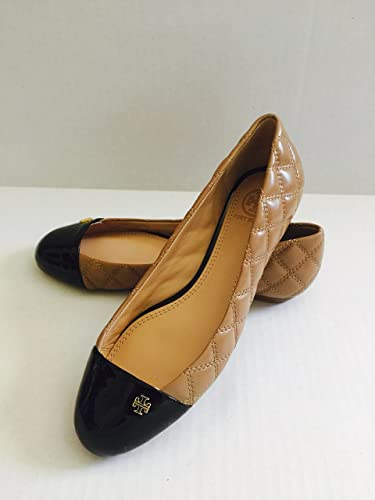 aada42acb92b Image Unavailable. Image not available for. Color  Tory Burch  Claremont  Quilted  Flat ...