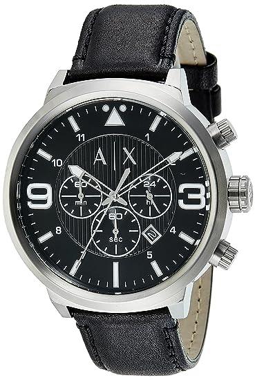 ca2b2f60f3dd Buy Armani Exchange Analog Black Dial Men s Watch - AX1371 Online at ...