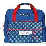Singer 120030 Cousu Main Sac de Transport Tissu Bleu 44 x 23 x 35 cm