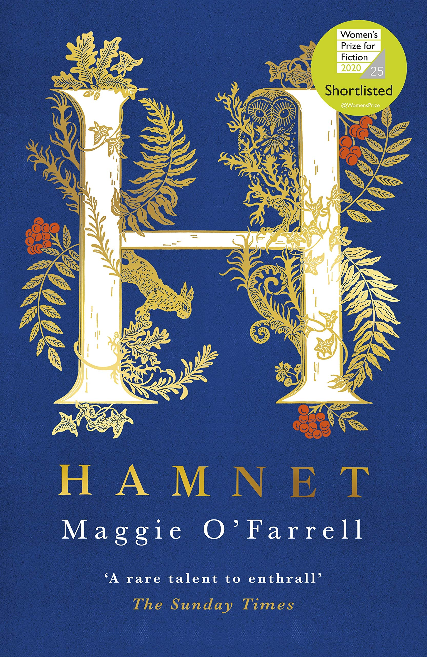 Hamnet: SHORTLISTED FOR THE WOMEN'S PRIZE FOR FICTION por Maggie O'Farrell