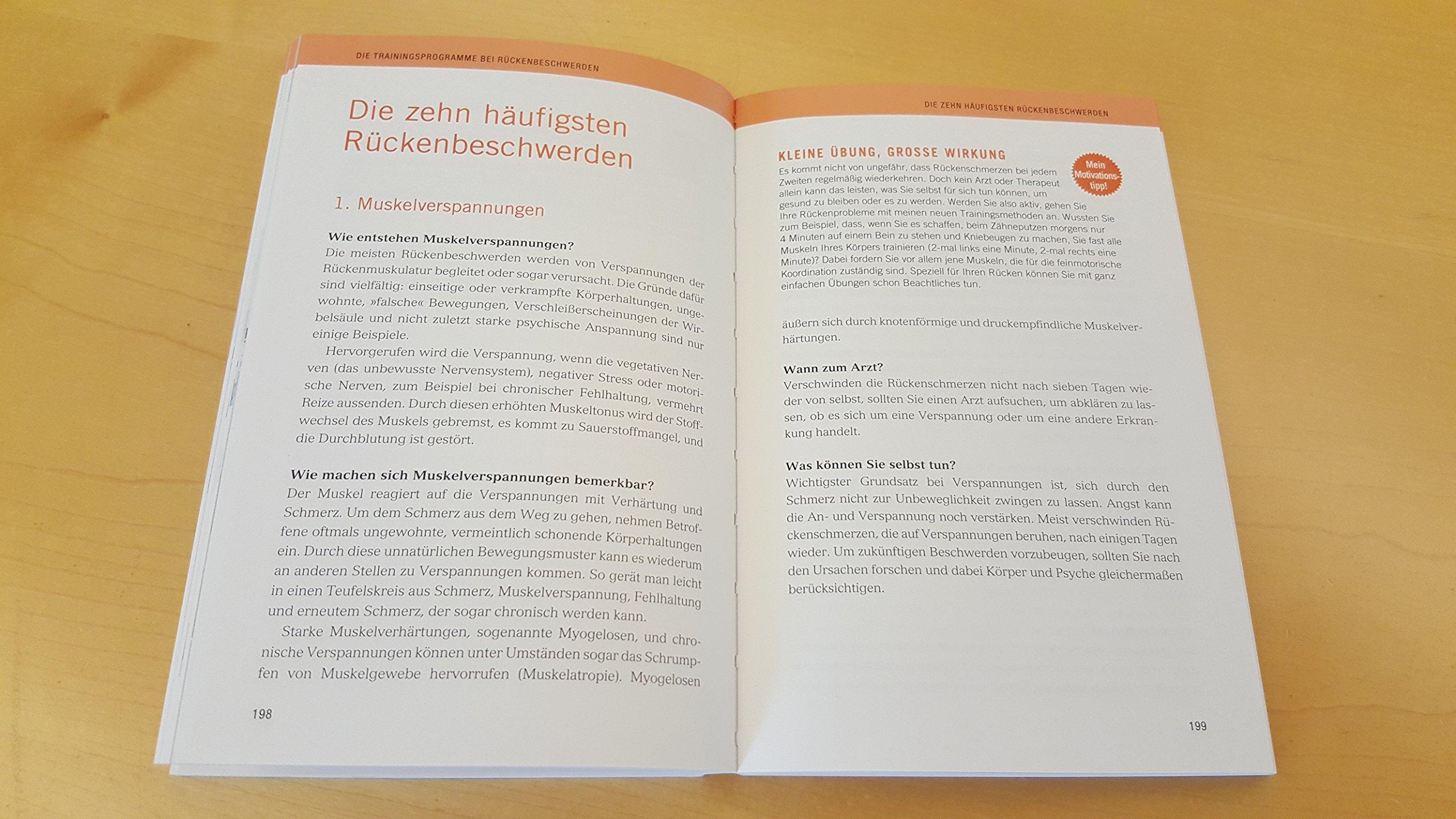 Das Grönemeyer Rückentraining: Für jedes Rückenproblem das ...