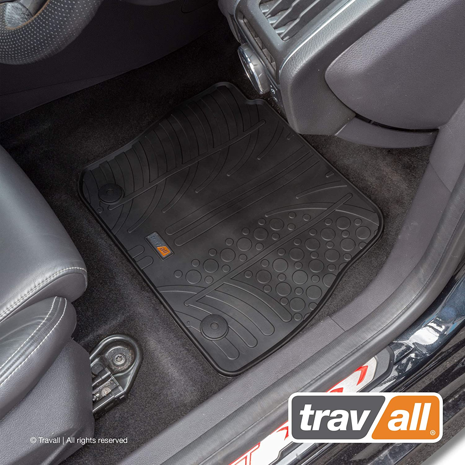 Travall Mats TRM1038R - Vehicle-Specific Rubber Floor Car Mats