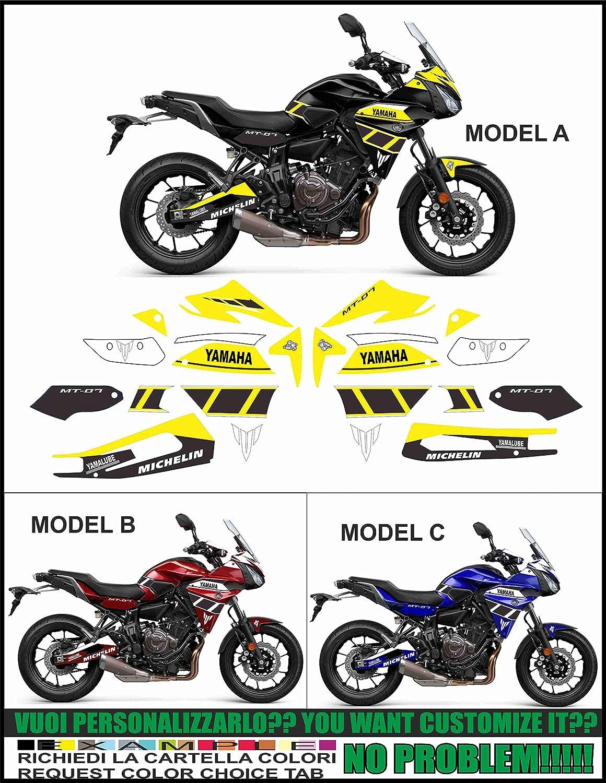 Kit adesivi Decal Stikers MT 07 Tracer 700 2016 - Formanu Design: Amazon.es: Coche y moto