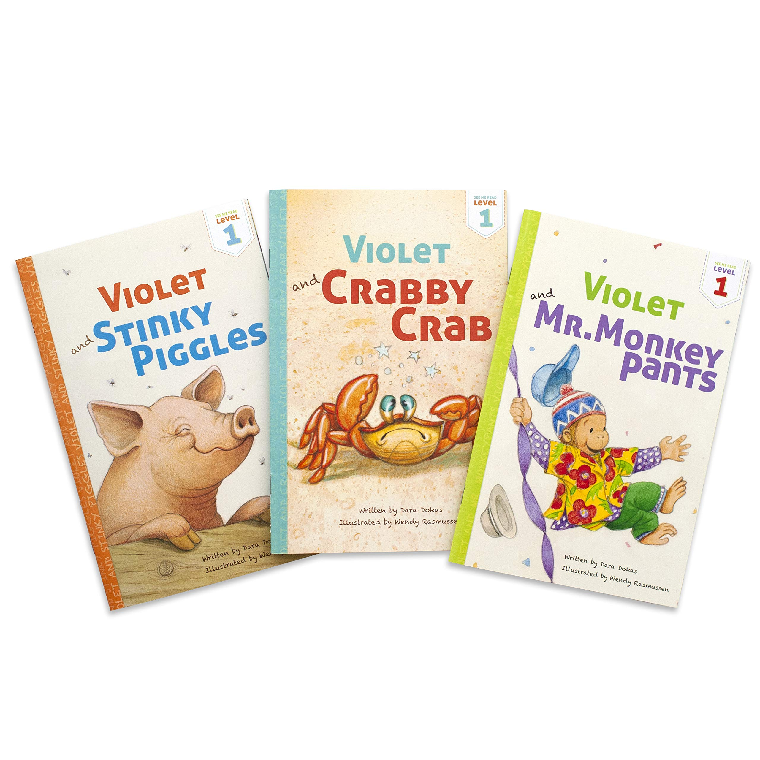 See Me Read - Set of 3 Personalized Early Reader Storybooks, Level 1 (Softcover)