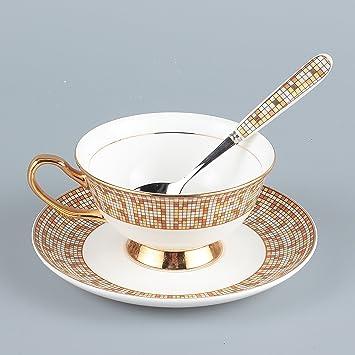 Neolith Vintage Bone China Tea Cups and Saucers Set Coffee Mugs
