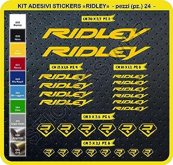 Kit de adhesivos para bicicleta, modelo Ridley, 24 unidades ...