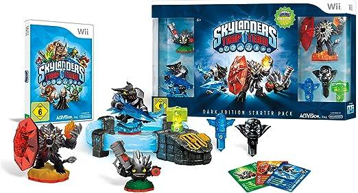 Skylanders: Trap Team - Starter Pack - Dark Edition - [Nintendo Wii] [Importación Alemana]: Amazon.es: Videojuegos