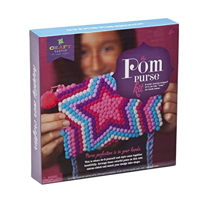 Craft-tastic Pom Purse Kit: Toys & Games
