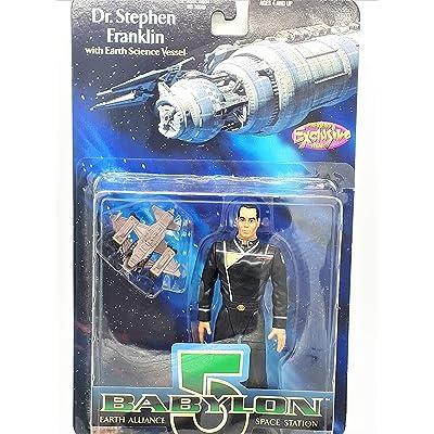 Babylon 5 Dr. Stephen Franklin Action Figure: Toys & Games