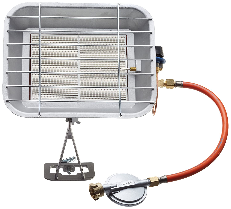 Einhell Gas Heizstrahler GS 4600 (Heizleistung bis 4,6 kW, inkl. Druckminderer, Schlauch, Regler, fü r handelsü bliche Gasflaschen) 2333200