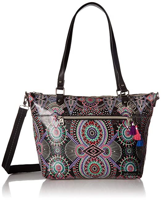 Amazon.com: Sakroots Artist Circle City - Bolso, Negro ...