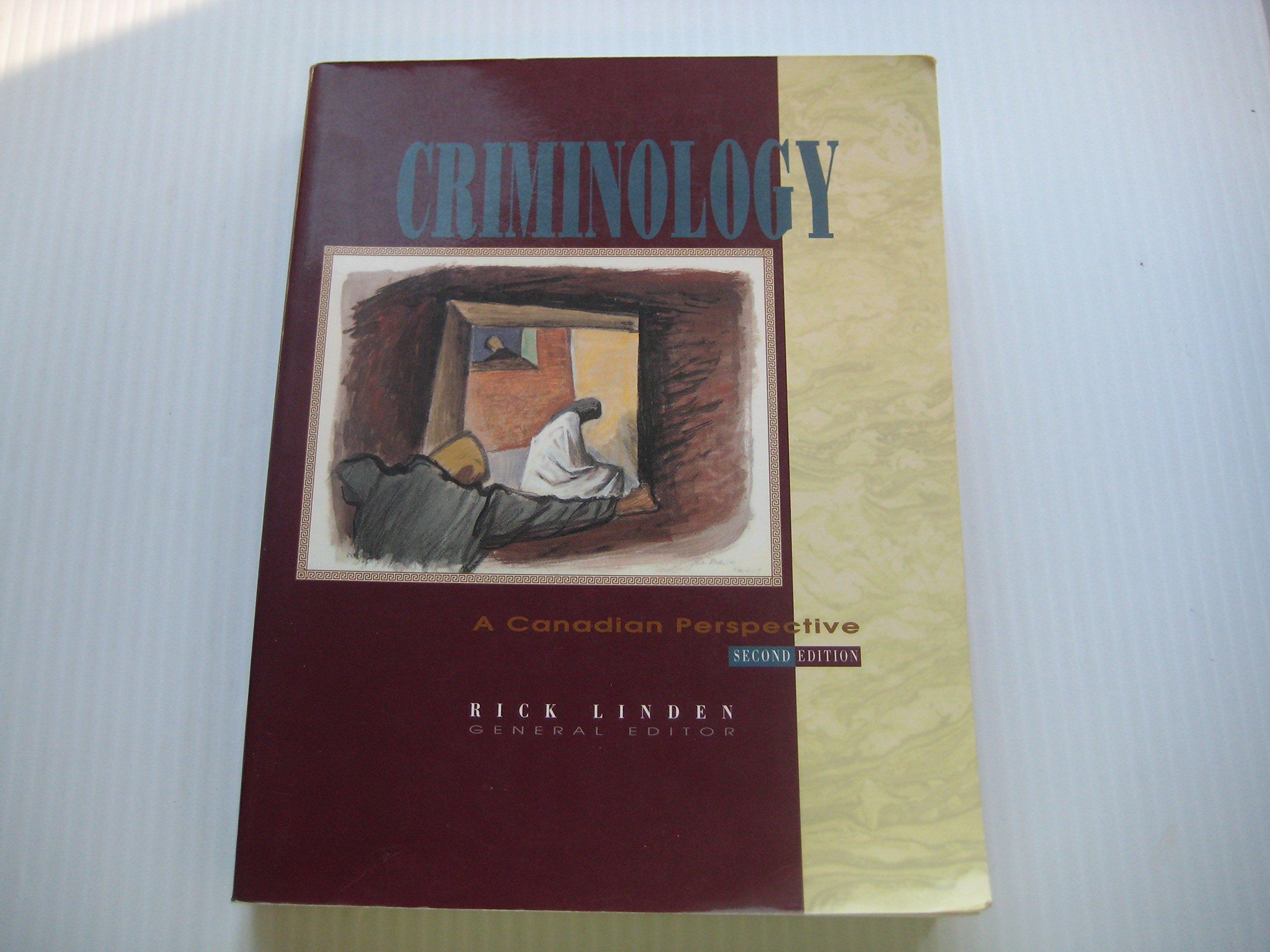criminology by rick linden