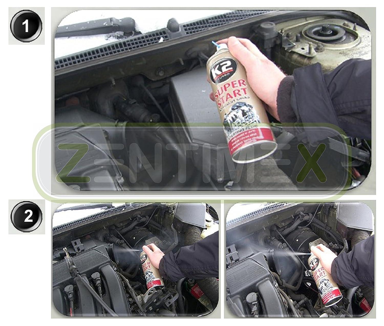 Starthilfe-Spray Starter-Spray Kaltstart-Spray Zündhilfe Motor ...