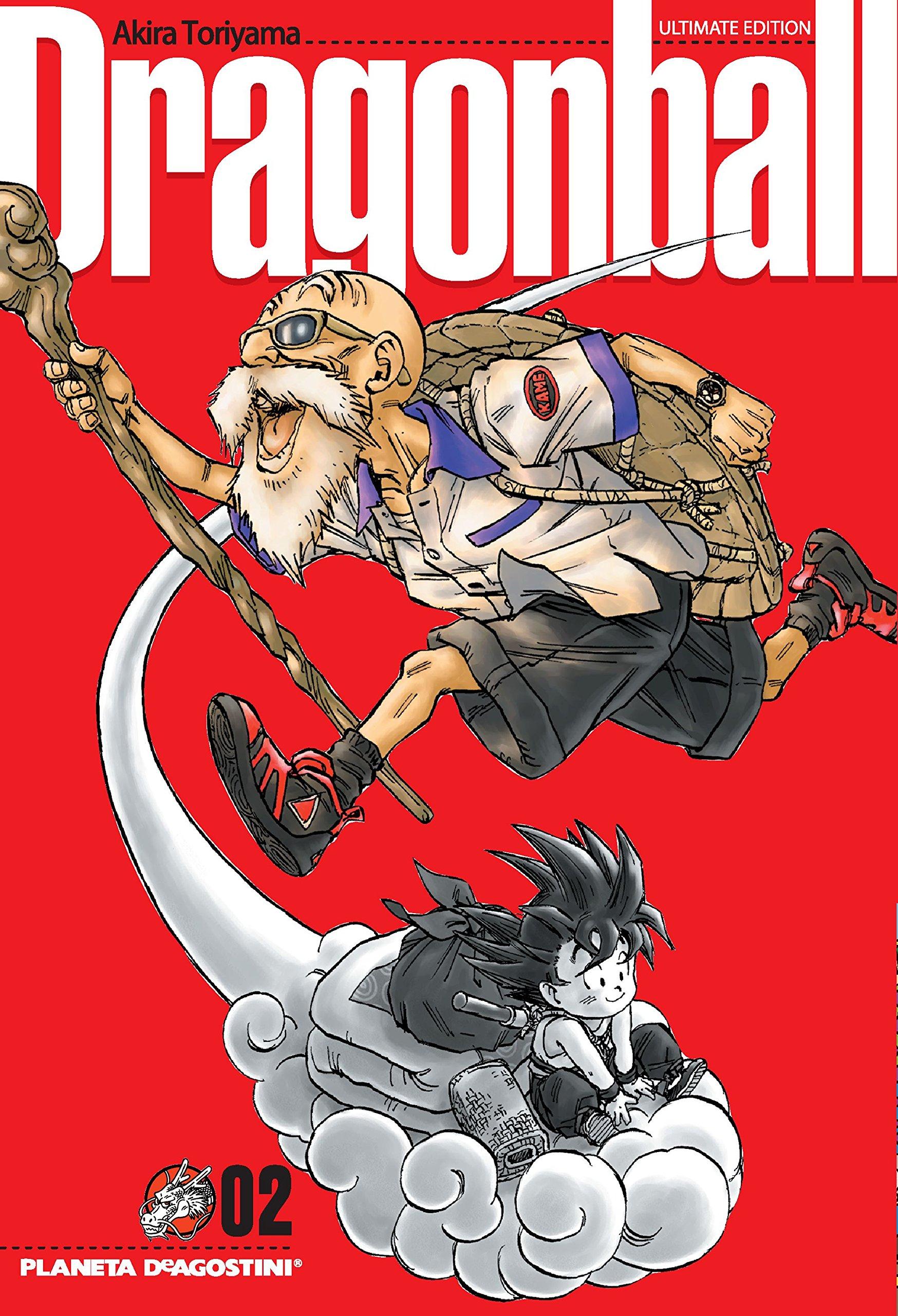 Dragon Ball nº 02/34 (DRAGON BALL ULTIMATE) Tapa blanda – 18 sep 2007 Akira Toriyama Planeta DeAgostini Cómics 846847035X Cómics y novelas gráficas
