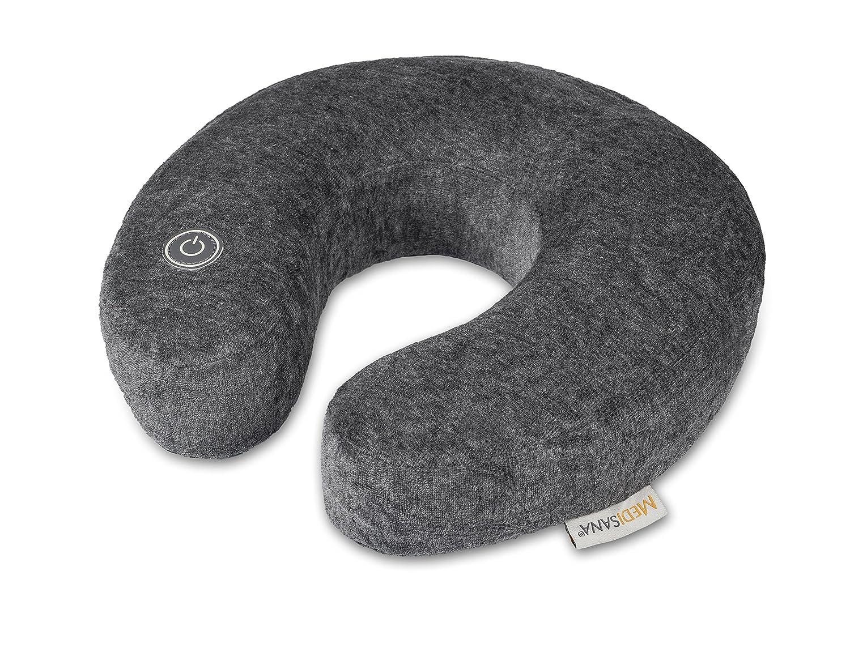 Medisana NM 870 Masajeador de cuello con masaje vibratorio, media luna para el cuello ideal para el hogar, la oficina o de camino, calmante para el ...