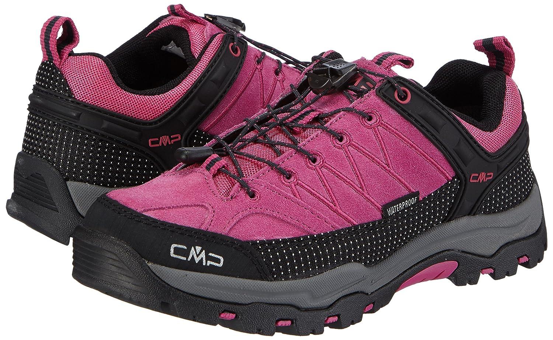 CMP Rigel - Zapatillas de Trekking y Senderismo de Cuero niña: Amazon.es: Zapatos y complementos