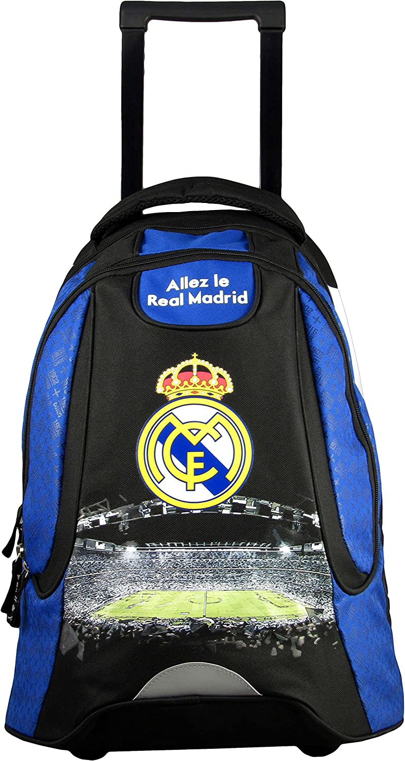 Real Madrid Sac /à Dos Scolaire Collection Officielle
