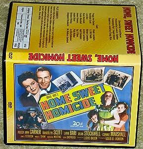 HOME SWEET HOMICIDE - DVD - Peggy Ann Garner, Randolph Scott
