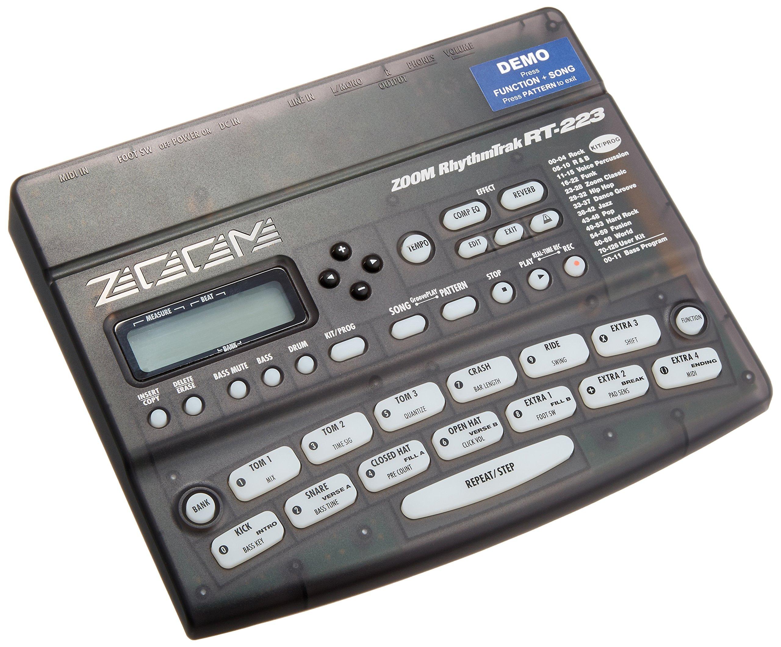 Zoom Rt223 Rhythm Track