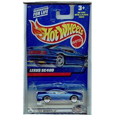 Hot Wheels 2000-210 BLUE Lexus SC400 Lace Wheels 1:64 Scale: Toys & Games