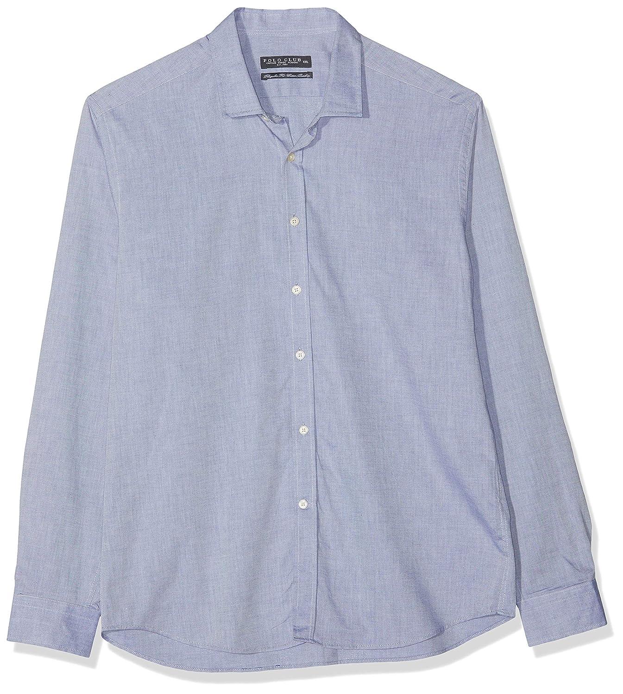 POLO CLUB Camisa Hombre Gentle Taylor Azul Marino S: Amazon.es ...