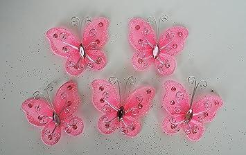 Amazoncom Set of 20 pcs Organza butterfly craft wedding party