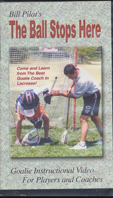 Amazon Bill Pilats The Ball Stops Here Lacrosse Goalie
