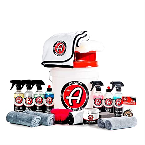 Adam S Essentials Complete Car Detailing Upgraded Kit The Essentials For Detailing By Hand Clean Protect And Shine Your Entire Car Retain The