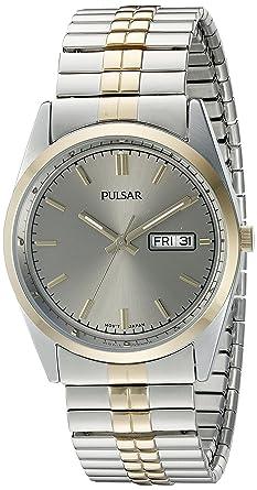 318c27efe Amazon.com: Seiko Men's PXF308 Expansion Band Analog Display Japanese  Quartz Two Tone Watch: Watches