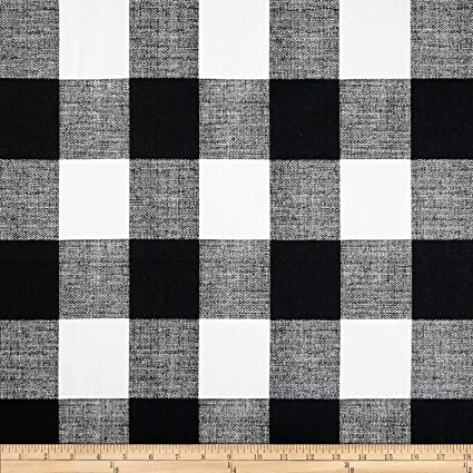 Premier Prints Anderson Check Black White