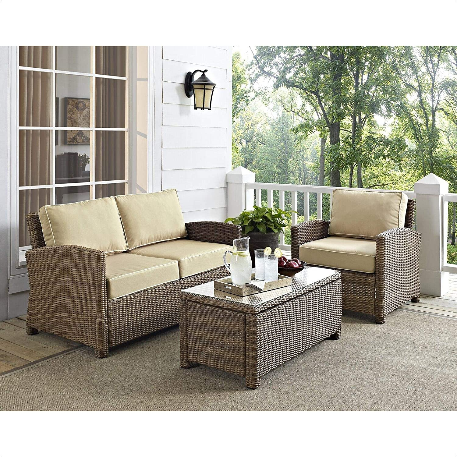Lawson Deep Seating Seating Group With Cushions Garden Outdoor
