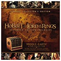 Middle-Earth: 6-Film Limited Collector's Edition (Blu-ray + DVD)