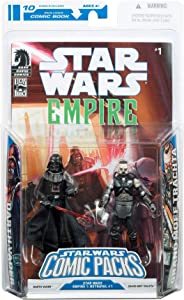 Star Wars Action Figure Comic 2-Pack Dark Horse: Empire #1 Darth Vader and Admiral Trachta