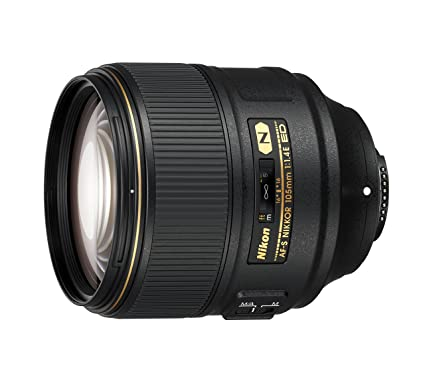 AF-S NIKKOR 105mm f/1 4E ED Lens