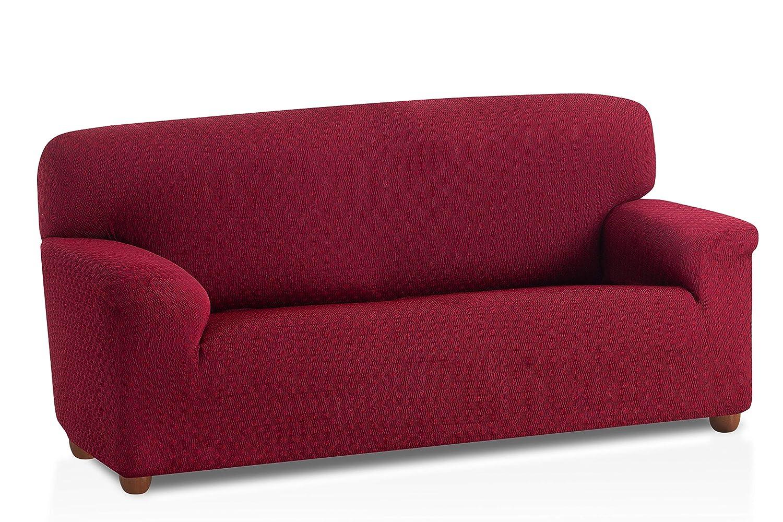Bartali Funda de sofá elástica Olivia - Color Gris - Tamaño 1 Plaza (de 50 a 90 cm)