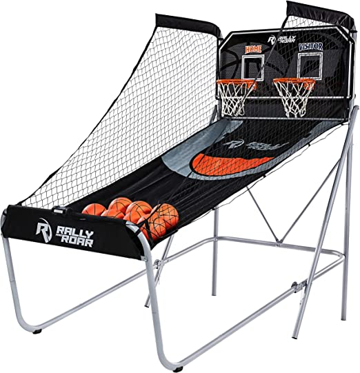 Rally and Roar Store Shootout Basketball Arcade Game - Best For Bigger Rooms