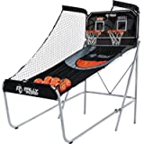 Shootout Basketball Arcade Game, Classic or Premium, Dual Shot with LED Lights and Scorer – 8 Option Interactive Indoor…