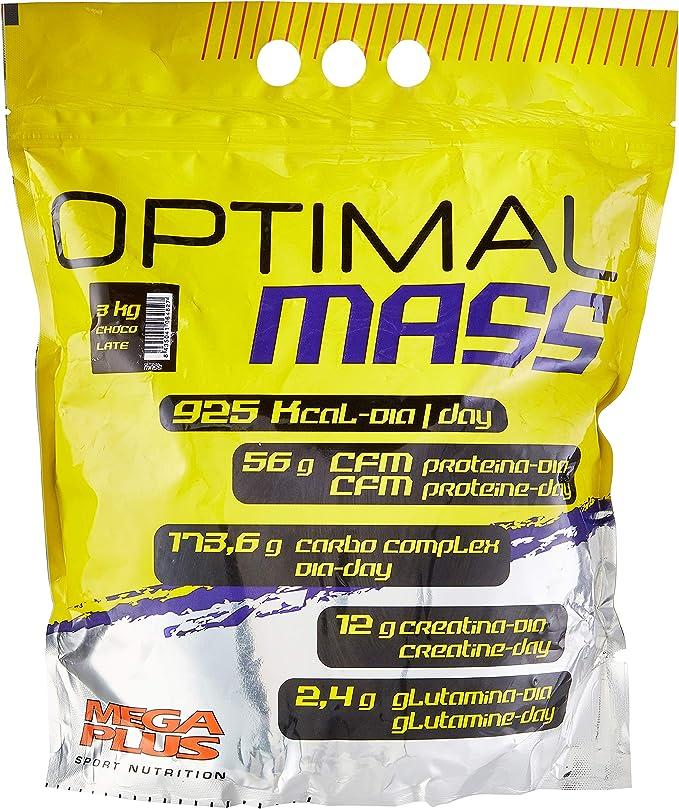 Mega Plus Optimal Mass Choco - 3000 gr: Amazon.es: Salud y ...