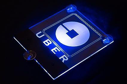 Uber,LYFT Acrylic LED Logo Sign