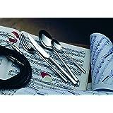 Salvinelli 'SALVI Nelli–Set di posate 25018/10in acciaio inox, set completo di 75pezzi per 12persone