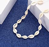 HSWE Shell Choker Necklace for Women Seashell