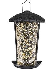 Perky-Pet Mangeoire à oiseaux à monter sur pied ou à fixer adossé contre surface plate - Capacité max. 500g de graines #101-5