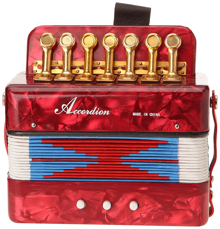 Delson ACC Mini Akkordeon, Rot
