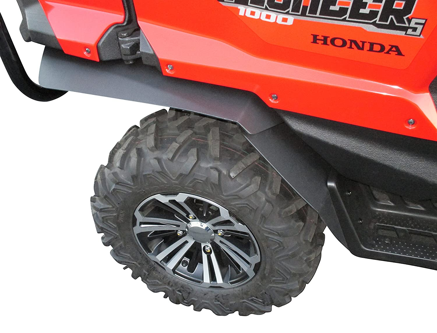 Front /& XL Rear Fenders Full Set MudBusters Fender Flares Fender Extensions for Honda Pioneer 1000-5