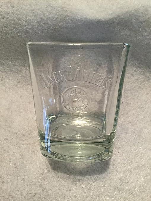 7 Embossed Glass Jack Daniel's Vintage Old No