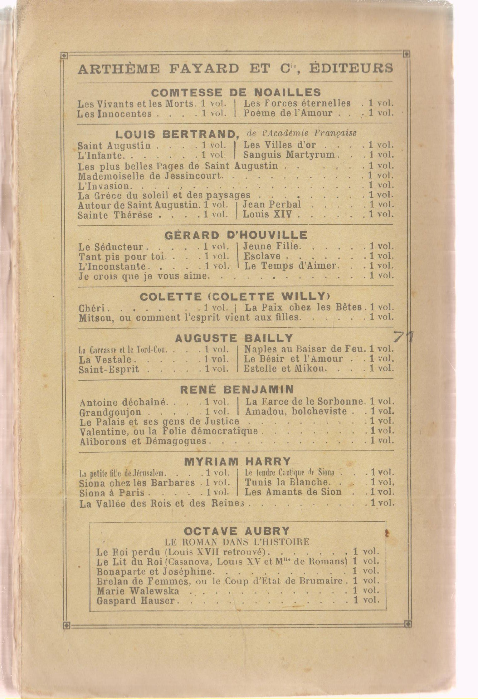 Auguste Bailly Soir Roman Auguste Bailly Amazoncom Books